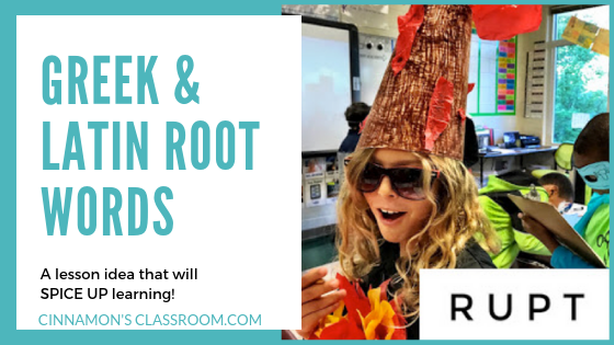 A fun way to teach Greek and Latin Root Words